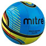 MITRE Beach Soccer Training Ball 10P [BB8301BYB] - Biru Kuning - Bola Sepak / Soccer Ball